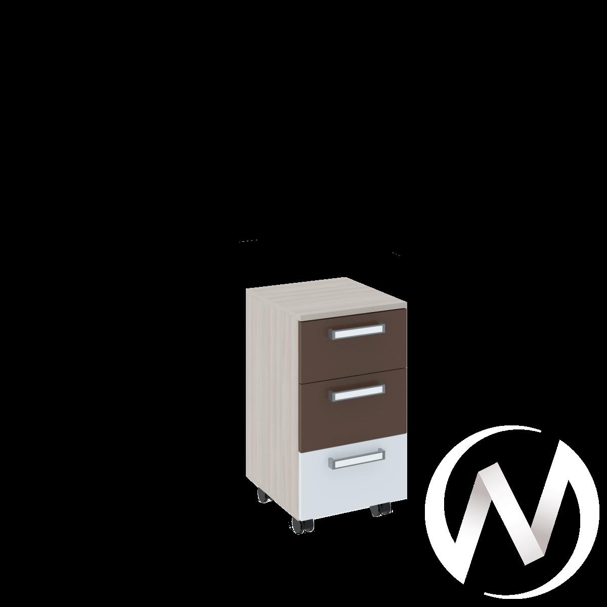 Walker М9 Тумба (ясень шимо светлый/белый)